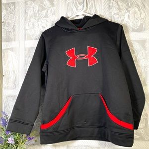 Under Armour Youths Sweatshirt with hoodie